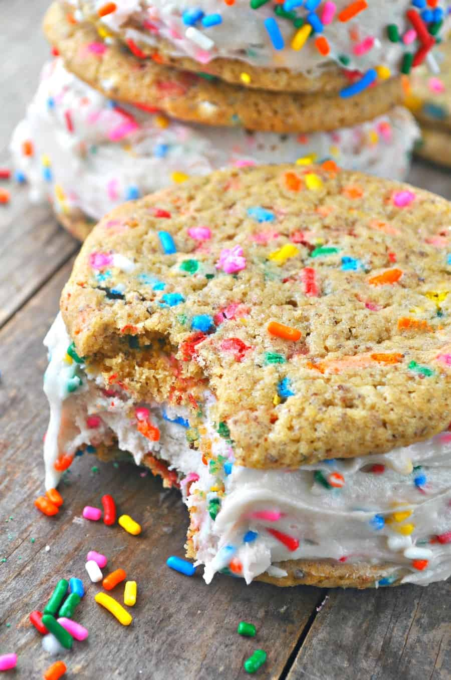 Ice Cream Sandwiches Are The Greatest Thing Ever Invented I Think We All Have To Agree This Cake Batter Is Made With Coconut Milk And Mix