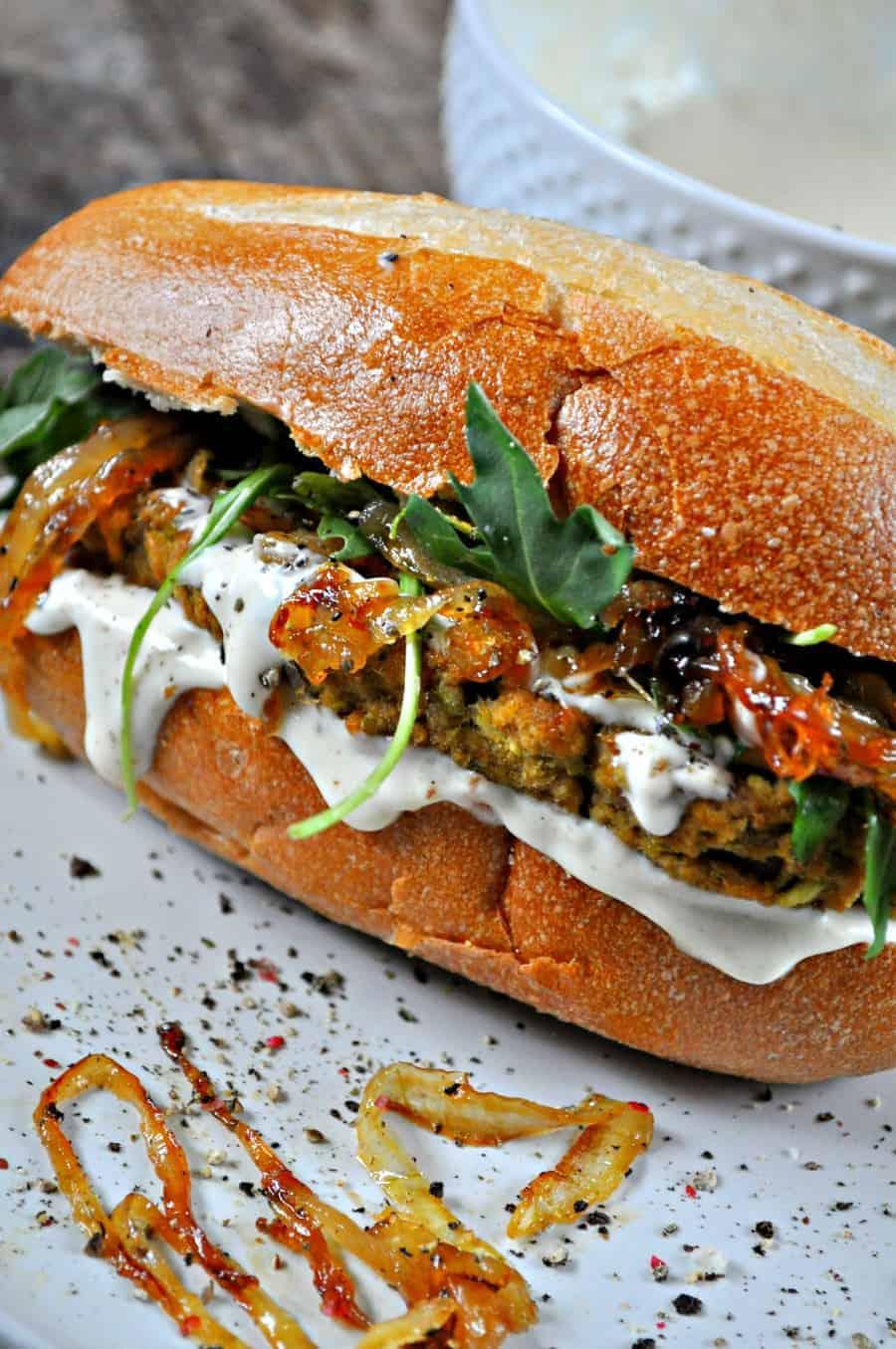 Vegan Split Pea Steak Sandwiches Rabbit And Wolves