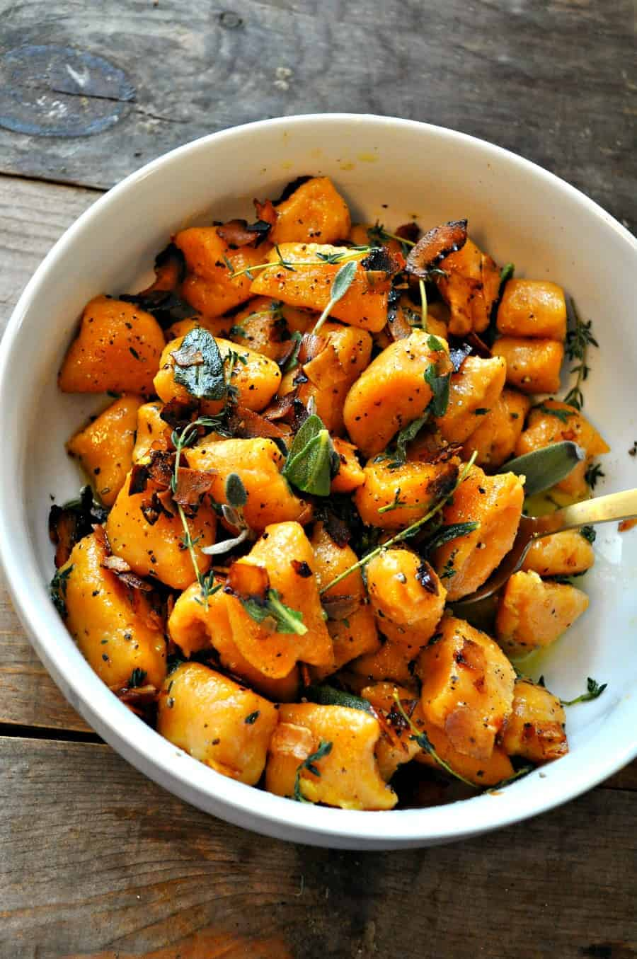 How to prepare sweet potato gnocchi