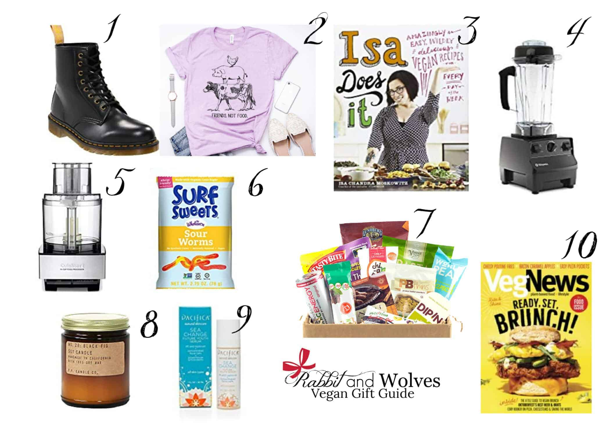 Vegan Gift Guide - Rabbit and Wolves