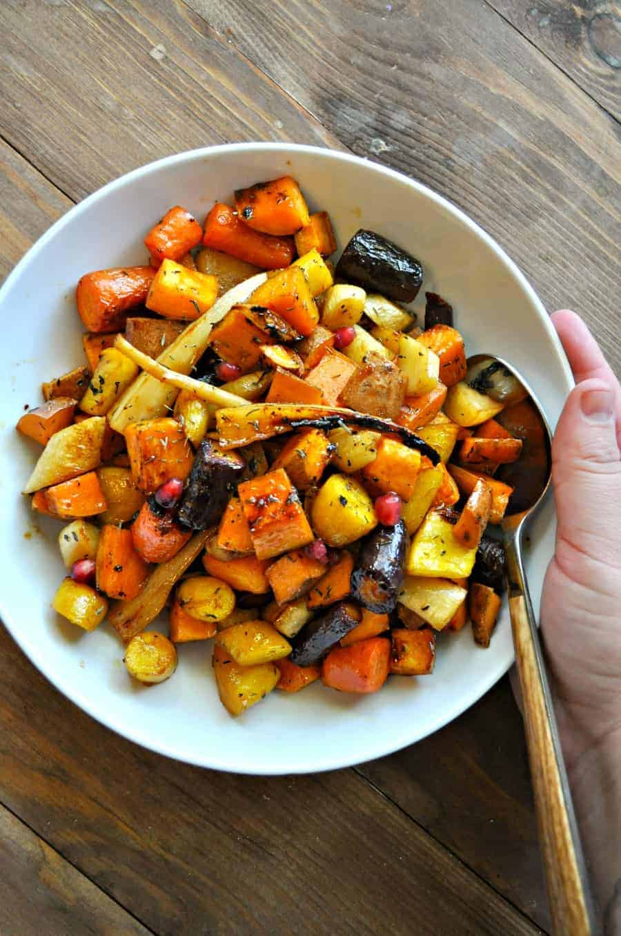 Cider Roasted Root Vegetables Rabbit And Wolves